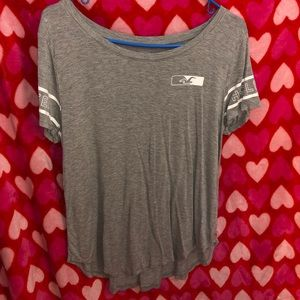 A Hollister graphic tee